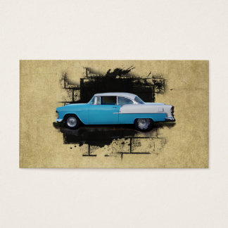 Cartão de negócios automotriz do Carro elegante,