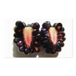 Cartão de negócios cortado do ~ de Blackberry Modelos Cartoes De Visitas