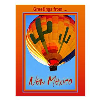 Cartão de New mexico
