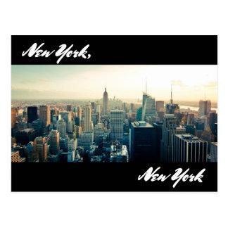 Cartão de New York, New York Cartão Postal
