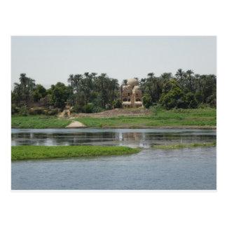 Cartão de Nile do rio