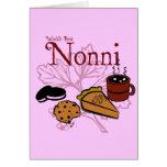 Cartão de Nonni do feliz aniversario