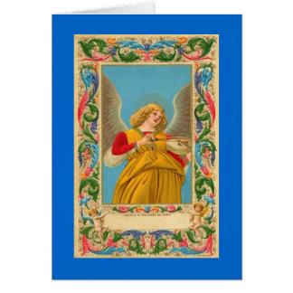 Cartão de nota - anjo