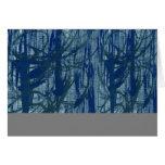 Cartão de nota com arte abstracta