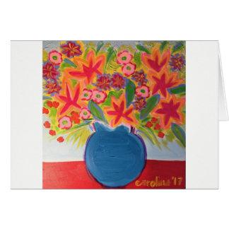 Cartão de nota da arte