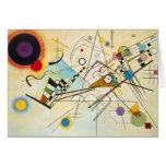 Cartão de nota da composição VIII de Kandinsky