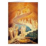Cartão de nota da escada de William Blake Jacob
