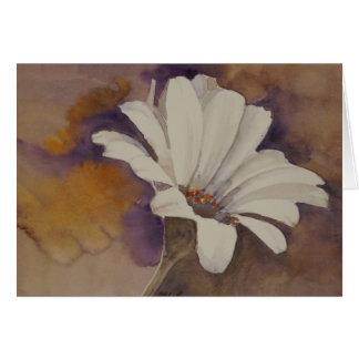 Cartão de nota da flor do humor