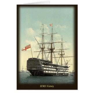 Cartão de nota da HMS Victory