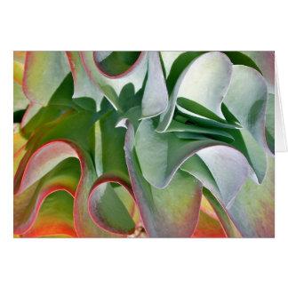 Cartão de nota da planta do Flapjack por Debra Lee