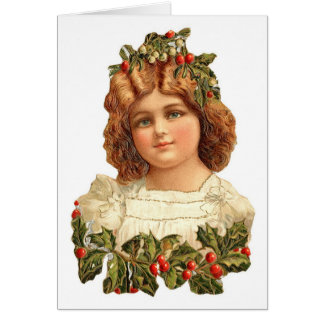 Cartão de nota de Cutie do Natal