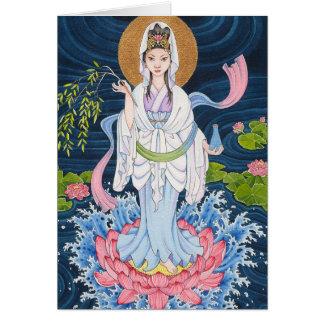 Cartão de nota de Guan Yin