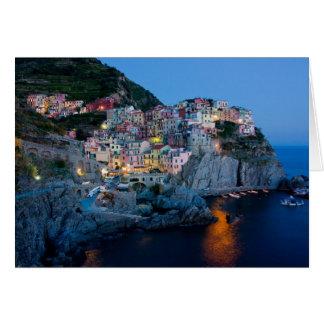 Cartão de nota de Italia