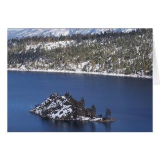 Cartão de nota de Lake Tahoe