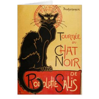 Cartão de nota de Le Conversa Noir