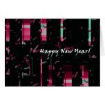 Cartão de nota do ano novo