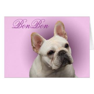 Cartão de nota do Bon BISS GCH do Bon