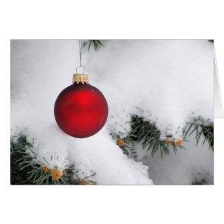 Cartão de nota do Natal/cartão 8