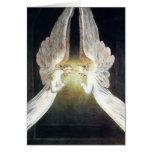 Cartão de nota dos anjos de William Blake