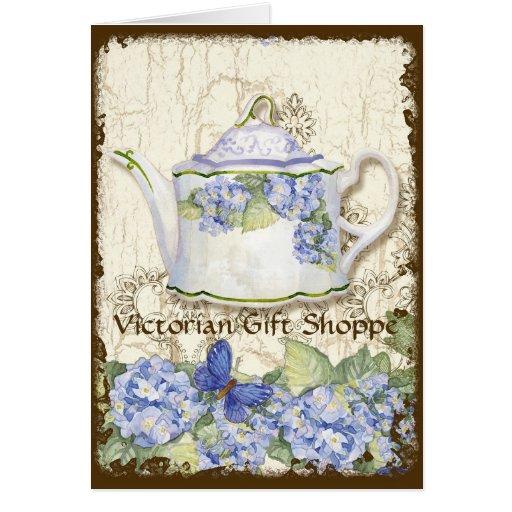 Cartão de nota elegante do negócio da loja feita s