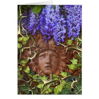 Cartão de nota Enchanted do verão do jardim
