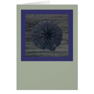Cartão de nota gráfico do dólar de areia