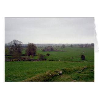 Cartão de nota rural bonito de Ireland