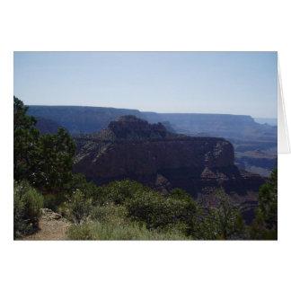 Cartão de nota vazio--Grand Canyon