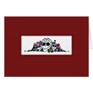 """Cartão De """"notecard Diâmetro de Los Muertos""""/cartão"""