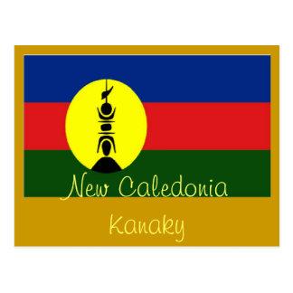 Cartão de Nova Caledônia Kanaky