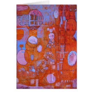 Cartão de N'Ova da bolha