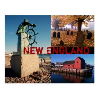 Cartão de Nova Inglaterra