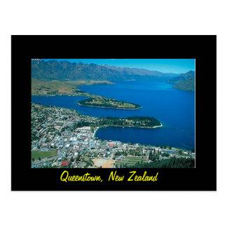 Cartão de Nova Zelândia Queenstown