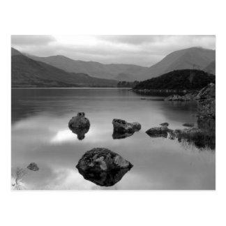Cartão de novembro dos vagabundos do Loch