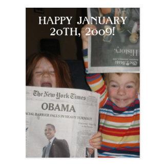 Cartão de Obama Cartão Postal