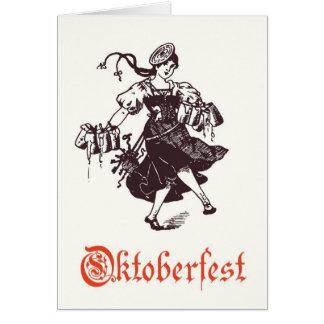 Cartão de Oktoberfest