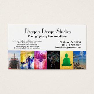 Cartão de ônibus da foto dos estúdios de Dezyn do