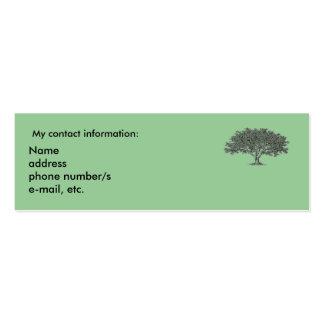 Cartão de ônibus - interesses da pesquisa da cartão de visita skinny