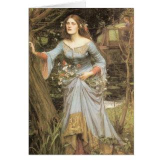 Cartão de Ophelia