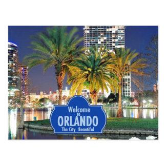 Cartão de Orlando Florida