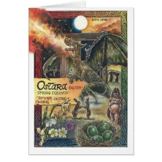 Cartão de Ostara (páscoa)