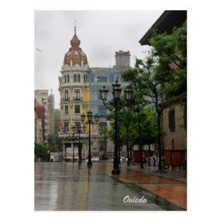 Cartão de Oviedo, as Astúrias Cartão Postal