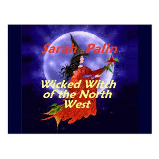 Cartão de Palin WitchNW
