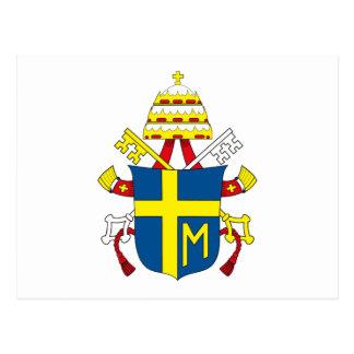 Cartão de Papa João Paulo II