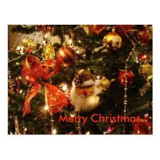 Cartão de Papai Noel Cartão Postal
