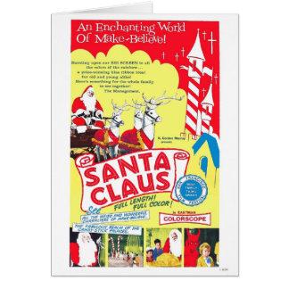 """Cartão de """"Papai Noel"""" de K. Gordon Murray"""