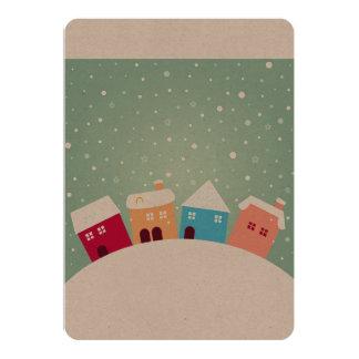 Cartão de papel dos desenhistas com trens