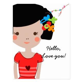 Cartão de Paperfruit Yosola