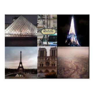 Cartão de Paris France Multiview
