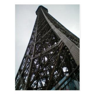 Cartão de Paris - torre Eiffel